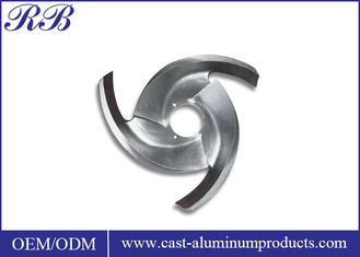 Custom Stainless Steel Impeller High Precision Pump Impeller With Investment Casting